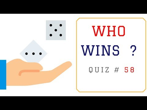 Math Problems with Answers  - Who Wins?
