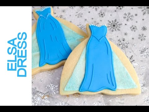 ELSA DRESS COOKIES, HANIELA'S