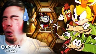 80 MINUTES FOR 1 BOSS..    CupHead (Part 4) +  Beanboozled Challenge