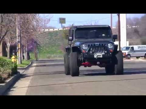 Jeep Death Wobble Experiment - Extreme Shaking! - Rare Parts Inc