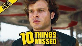 Solo: A Star Wars Story Trailer Breakdown - Things Missed & Easter Eggs