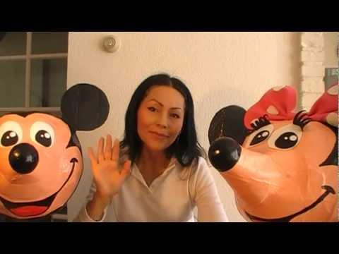 Mickey y Minnie mouse pinata