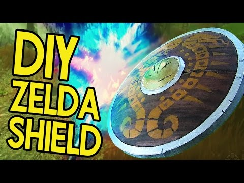 DIY Zelda 'Breath of the Wild' Traveler's Shield - Backyard FX