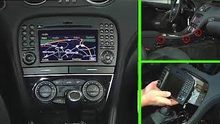 Mercedes-Benz SL | Remove/install Comand (R230)