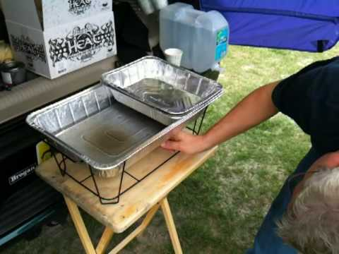 Serving HOT Food at a Tailgate Party ! Birthday Party Ideas
