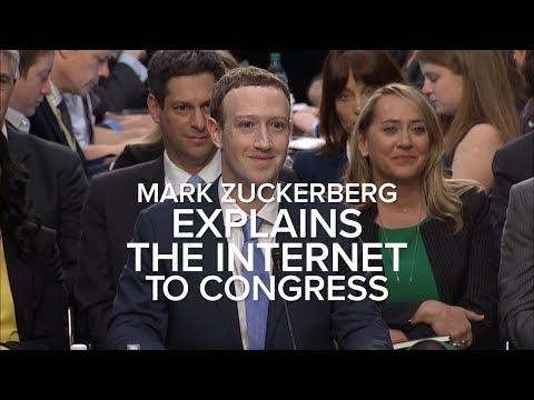 Zuckerberg explains the internet to Congress