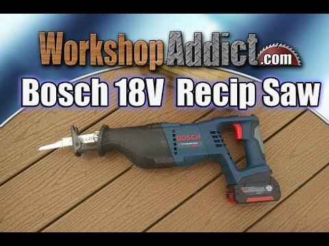 Bosch 18 Volt Reciprocating Saw - CRS180K