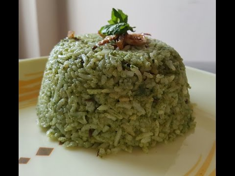 Pudina rice || Mint Rice || Simple and Quick Recipe