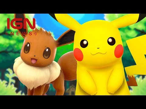Pokémon Let's Go Pikachu! and Let's Go Eevee! Confirmed for Nintendo Switch - IGN News
