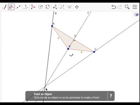 Finding/Making the Orthocenter for an Obtuse Triangle
