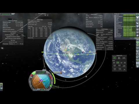 KSP RP-0 1.1 - Ep21: Matching Orbits for Rendezvous
