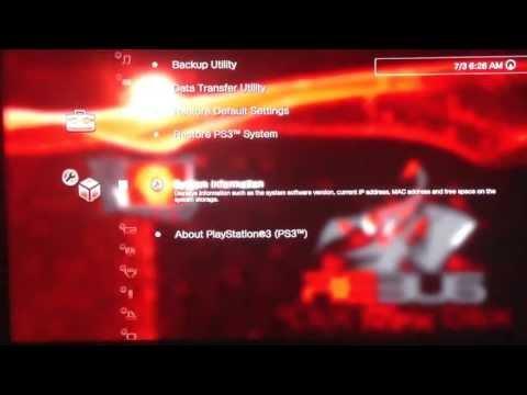 PS3 Rebug 4.41 Lite custom boot & themes