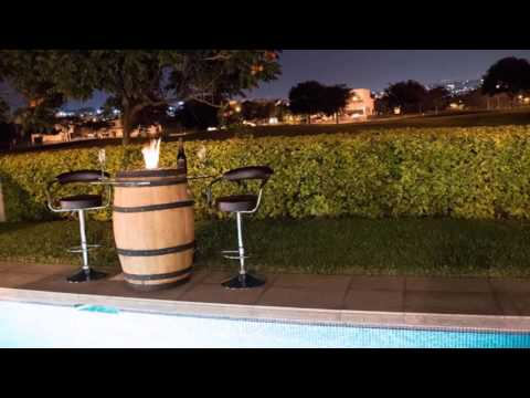 Barrel Fire Pit - C&A