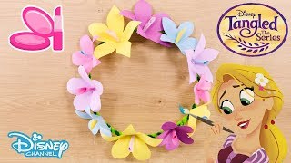 Tangled: The Series | Head Band Tutorial | Official Disney Channel UK