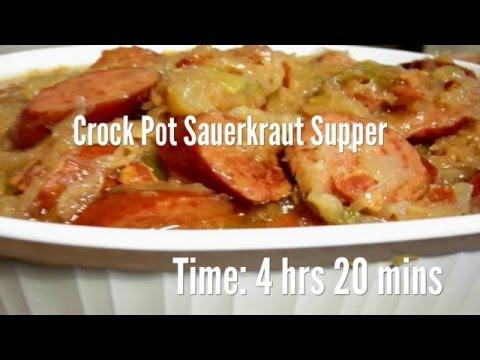 Crock Pot Sauerkraut Supper Recipe
