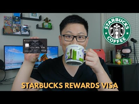 NEW Chase Starbucks Rewards Card Review