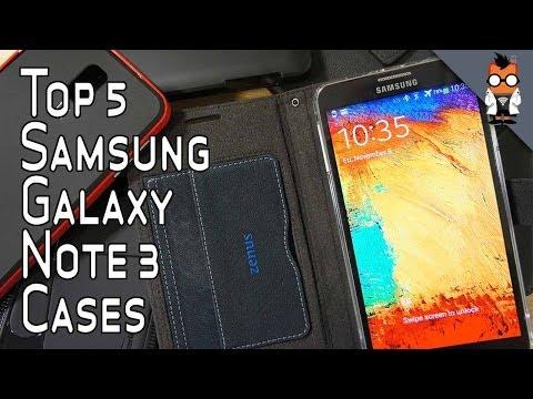 Top 5 Samsung Galaxy Note 3 Cases