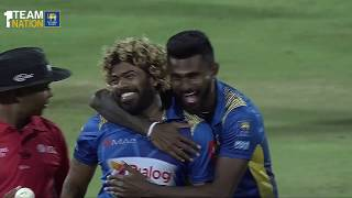 Lasith Malinga's four-ball 4-wicket hat-trick