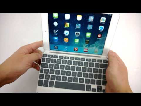 Zaggkeys Keyboard Cover for iPad Mini Review