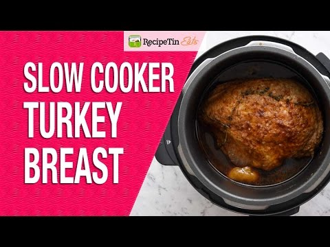 Juicy Slow Cooker Turkey Breast