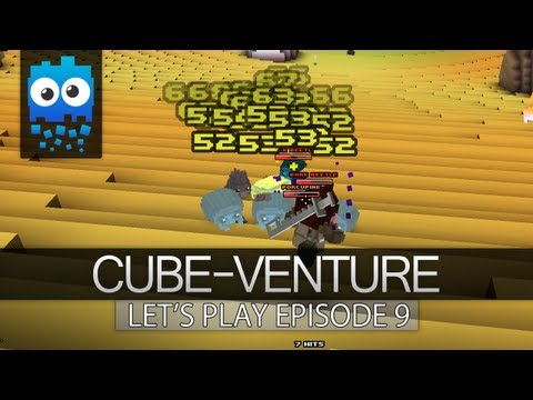 Cube-Venture Episode 9 : Cube World Alpha Let's Play! - OMG The Crafting is AWESOME!