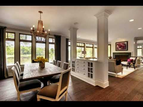 Living Room Dining Room Half Wall Ideas