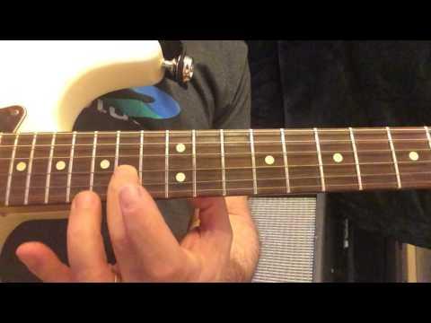 No Secrets by The Angels Guitar Solo #2 Lesson Free Tab PDF