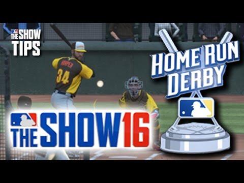 MLB The Show 16  - EPIC HOMERUNS - Harper vs. Stanton HR Derby (Polo Grounds)