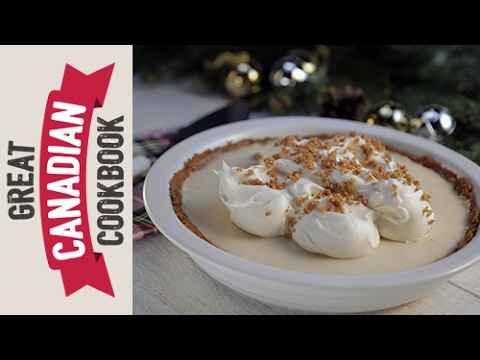 How to Make Eggnog Cream Pie