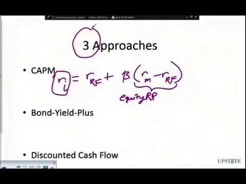 WACC - Cost of Equity