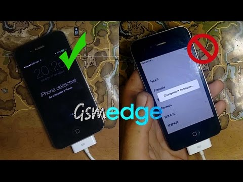 How To Bypass Remove icloud IPhone 4 & Fix Service Sim Work