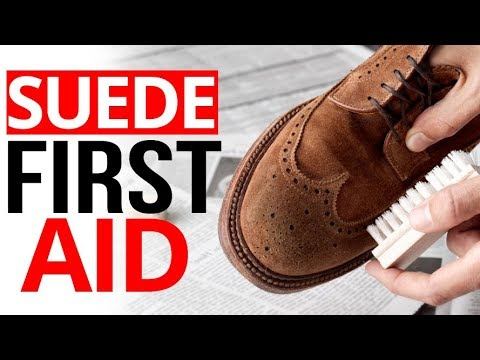 Quit RUINING Suede Shoes Jackets & Boots | ULTIMATE Guide To Cleaning Suede Leather