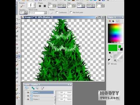 How to Make a Digital Christmas Tree