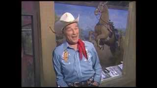 Visiting Roy Rogers at his museum 1986