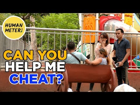 Philippines Social Experiment: Who Will Help You Cheat On Your Wife?  | HumanMeter