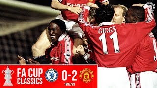 FA Cup Classic   Chelsea 0-2 Manchester United (1999)   Dwight double sends United through