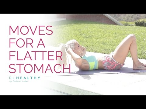 9 Moves for a Flatter Stomach | Rebecca Louise