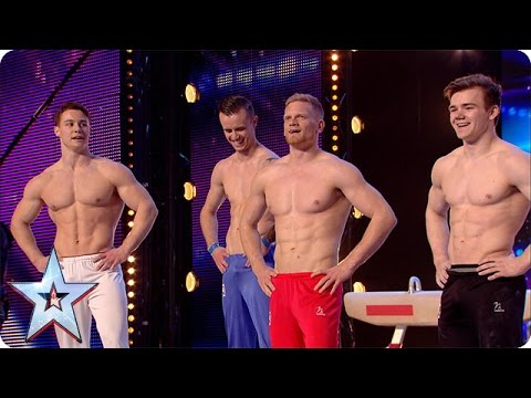 4G have some serious six packs   Britain's Got More Talent 2016