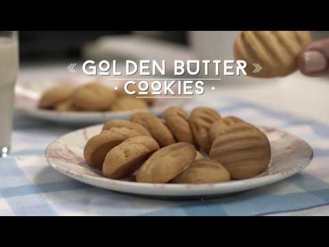 Sharp Microwave Oven - Golden Butter Cookies