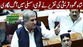 Shah Mehmood Qureshi's Fiery Speech in National Assembly | 17 August 2018 | Express News