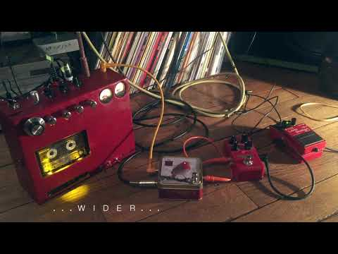 Double tracking with cassette tape delay - (headphones needed)