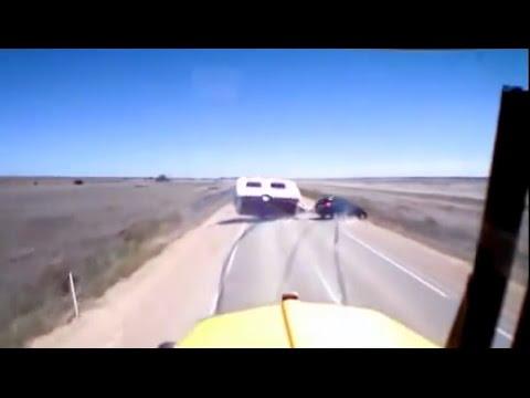 Caravan Sway Crash