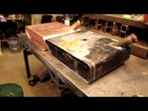Copper Tank, Tig Brazing w/Silicon Bronze, FINAL ASSEMBLY !!!