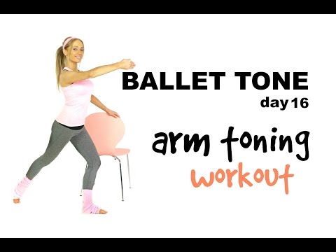 ARM EXERCISES FOR WOMEN -  get toned arms & get rid of your bingo wings -  no equipment workout