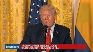 Trump Says Venezuela Presents a