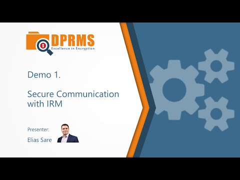 Azure RMS Demo 1: Secure Email Communication with IRM