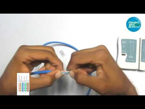 *NEW* How To Make & Test Cat 6 Cable (Make it Network Ready) Easy!