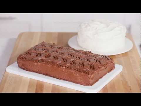Easy Cake Decorating with a Spoon or Fork