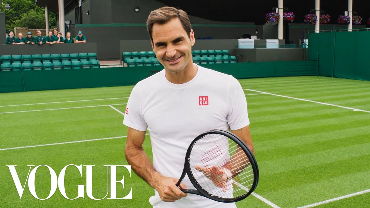 73 Questions With Roger Federer   Vogue