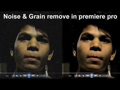 How to Remove grain&noise in your video hindi video. reduce noise and grains